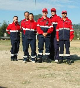 Il Gruppo Antincendio prima della vestizione.